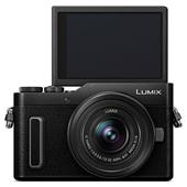 A picture of Panasonic Lumix DC-GX880 Mirrorless Camera in Black with 12-32mm Lens
