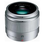A picture of Panasonic 25mm f/1.7 Lens in Silver