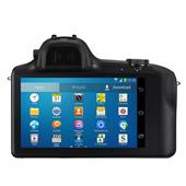 A picture of Samsung Galaxy NX Compact System Camera in Black + 18-55mm Lens