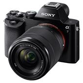 A picture of Sony a7 Mirrorless Camera with 28-70mm Lens