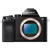 A picture of Sony a7 Mirrorless Camera Body with 50mm f/1.8 Lens, Sony Bag and Spare Battery - Ex-Display