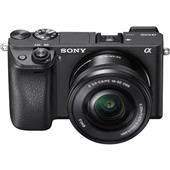A picture of Sony a6300 Compact System Camera in Black with 16-50mm Lens