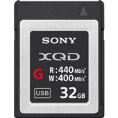 A picture of Sony XQD G Series 32GB Memory Card