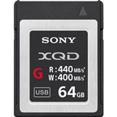 A picture of Sony XQD G Series 64GB Memory Card