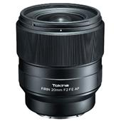A picture of Tokina Firin 20mm F/2 FE AF lens for Sony E mount