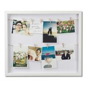 A picture of Umbra ClothesLine Photo Display White
