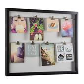 A picture of Umbra Clipline Photo Display Black Frame