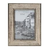 "A picture of Widdop Impressions Tarnished Pewter Look 4 x 6"" Photo Frame"