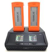 A picture of Yuneec DY5 Dual Battery Charger for H520 and Typhoon H Plus