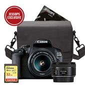 A picture of Canon EOS 2000D Digital SLR Twin Lens Complete Kit. Worth £570 Everything you need in one Box!