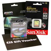 A picture of Jessops Mirrorless 32GB Bundle with 46mm UV Filter