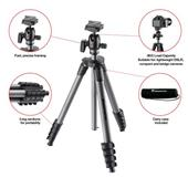 A picture of Manfrotto Compact Advanced Tripod and Lowepro Adventura TLZ 30 II Shoulder Bag Bundle