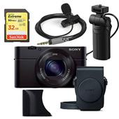 A picture of Sony Cyber-shot DSC-RX100 III with Case and Grip Creators Kit