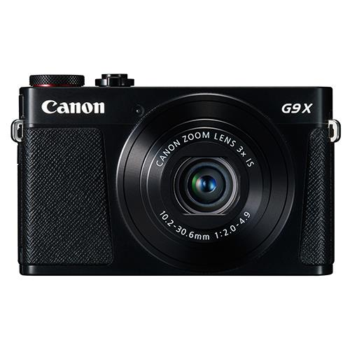 Canon Powershot G9 X Compact Camera in Black