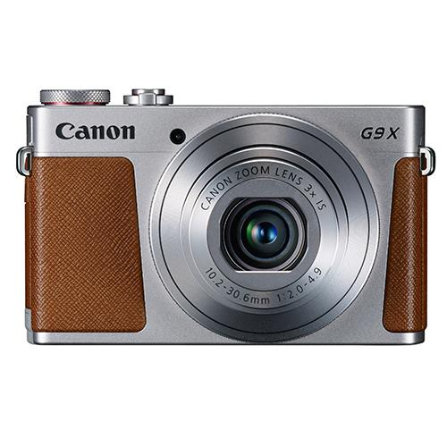 Canon Powershot G9 X Compact Camera in Silver