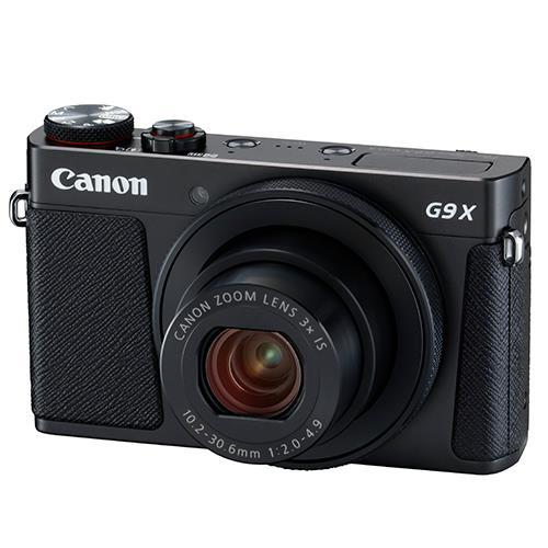 Canon PowerShot G9 X Mark II Compact Camera in Black
