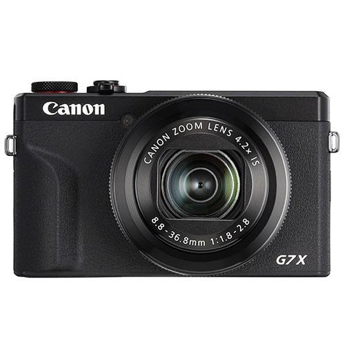 Canon PowerShot G7 X Mark III Digital Camera in Black