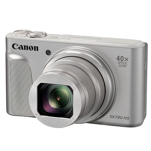Canon PowerShot SX730 HS Digital Camera in Silver