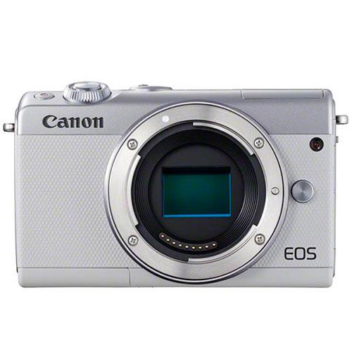 Canon EOS M100 Mirrorless Camera Body in White