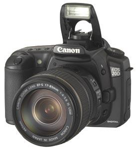 Canon EOS 20D Digital SLR (Body Only)