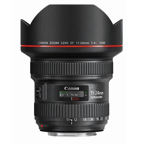 Canon EF 11-24mm f/4.0 L USM Lens.
