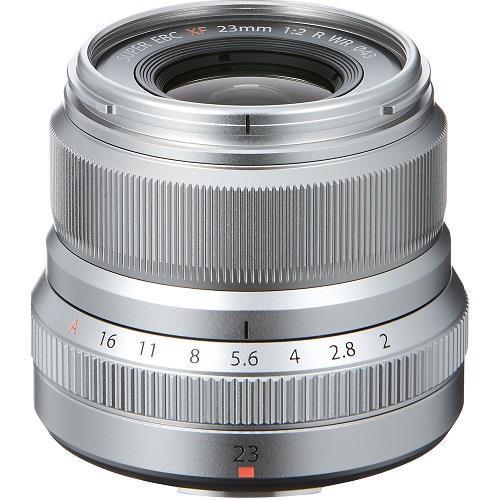 Fujifilm XF23mm f/2 R WR Lens in Silver