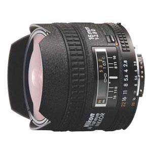 Nikon 16mm f/2.8D Fisheye Lens