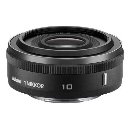 Nikon 1 10mm f2.8 Pancake Lens - Black