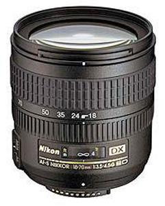 Nikon AF-S 18-70mm f/3.5-4.5G IF-ED DX