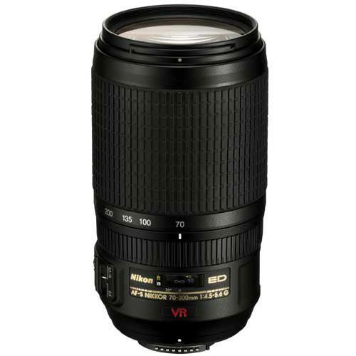 Nikon AF-S NIKKOR 70-300mm f/4.5-5.6G IF-ED VR Lens