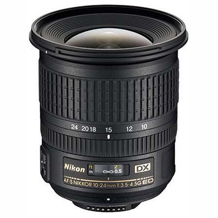 Nikon NIKKOR AF-S 10-24mm f/3.5-4.5 ED Lens