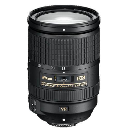 Nikon AF-S DX 18-300mm f/3.5-5.6 ED VR Lens