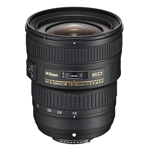 Nikon AF-S 18-35mm f/3.5-4.5G ED Lens
