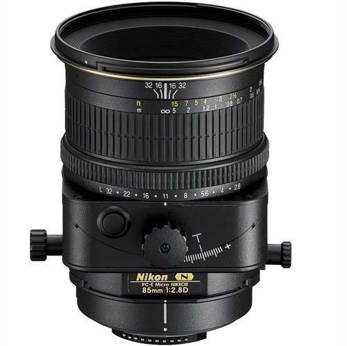 Nikon 85mm f2.8 PC-E Nikkor-ED Lens