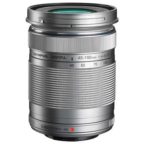 Olympus M.Zuiko Digital ED 40-150mm f/4.0-5.6 R Silver Lens