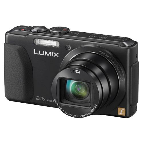 Panasonic Lumix DMC-TZ40 Digital Camera in Black