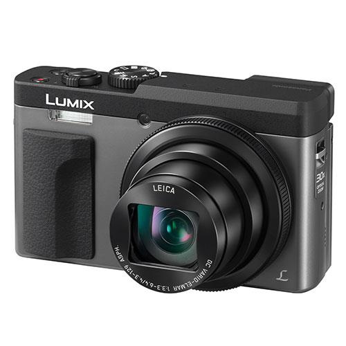 Panasonic Lumix DC-TZ90 Camera in Silver - Ex Display