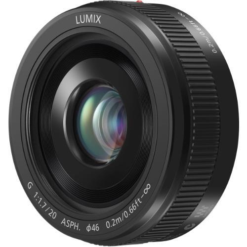 Panasonic 20mm f/1.7 ASPH G Pancake Lens