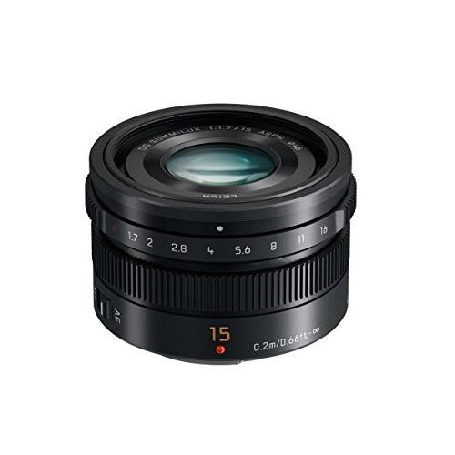 Panasonic 15mm f/1.7 Leica DG Summilux ASPH (Black)