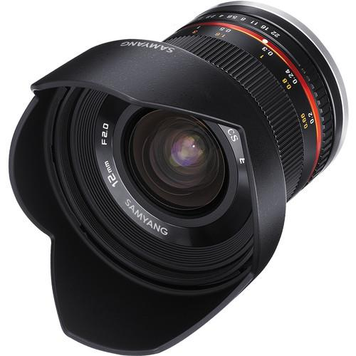 Samyang 12mm f2.0 NCS CS Lens - Sony fit