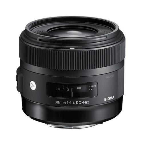 Sigma 30mm f/1.4 DC A HSM Lens (Canon AF)