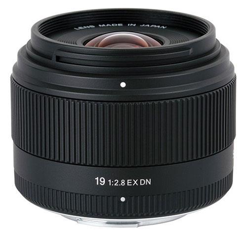 Sigma 19mm f/2.8 EX DN Lens - Sony E Mount