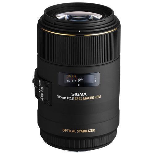 Sigma 105mm f/2.8 EX DG HSM OS Macro (Canon AF)