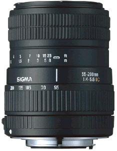 Sigma 55-200mm f/4-5.6 DC (Canon AF)