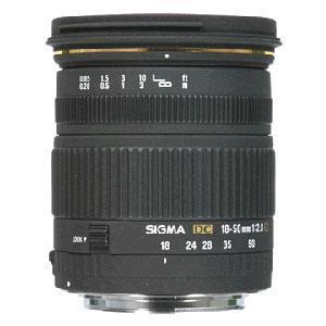 Sigma 18-50mm f/2.8 EX DC (Canon AF)