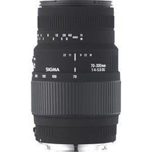 Sigma 70-300mm f/4-5.6 DG Macro (Nikon AF - Non-Motorised)