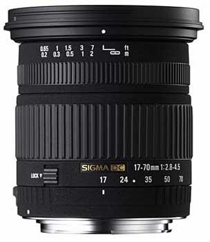 Sigma 17-70mm f/2.8-4.5 DC Macro (Canon AF)