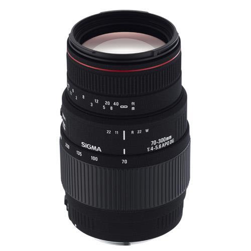 Sigma 70-300mm f/4-5.6 APO Macro DG (Nikon AF Including D40/D40x)
