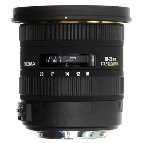 Sigma 10-20mm f3.5 EX DC HSM Lens - Nikon AF