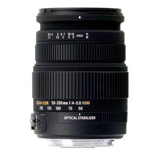 Sigma 50-200mm f/4-5.6 DC OS Lens (Nikon AF)